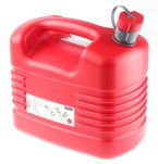 Product image for Pressol Red HDPE Petrol Jerrycan 10 Ltr