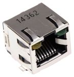 Product image for Mod Jack RJ45 Cat 5 Right angle