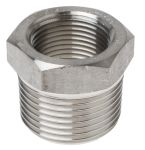Product image for 1in F/Steel 316 Hex Bushing M/F Joint