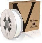 Product image for Verbatim 1.75mm White 3D Printer Filament, 500g