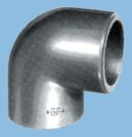 Product image for PVC-C FITTING 90? DIAM 50MM