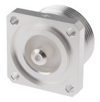 Product image for 7-16 RECEPTACLE,FEMALE,PANEL MOUNT W/TAB