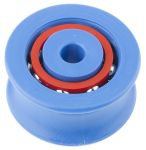 Product image for PULLEY W/2 ROW BALL,46MM OD 8MM ID