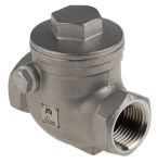 Product image for S/steel swing check valve,1/2in BSP F