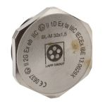 Product image for Blanking Plug M32 Metal ATEX IP68