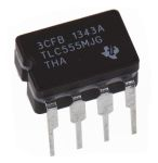 Product image for TLC555 LINCMOS TIMER 2-15V CDIP8