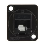 Product image for FT BLK METAL CAT5e RJ45 CSK XLR