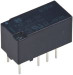 Product image for PCB relay,DPDT,1xlatch,sealed,7.5A,3Vdc