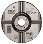 Product image for Bosch A30 T Expert for Metal Aluminium Oxide Grinding Wheel, 115mm Diameter, P30 Grit