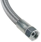 Product image for Wire covered hose, 500mm L x 3/8in ID