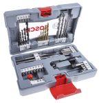 Product image for Bosch 49 piece Masonry Twist Drill Bit Set, 2mm to 20mm