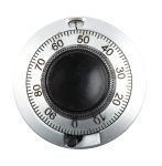 Product image for 11 turn dial potentiometer,46mm dia