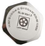 Product image for Blanking Plug M50 Metal ATEX IP68