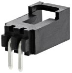 Product image for 2.54mm,housing,Cgrid,shrouded,90°,2w