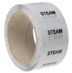Product image for Pipe marking tape 'STEAM',50mmx33m