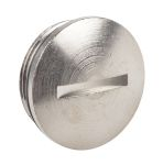 Product image for Blanking plug, metal, M25, male thread