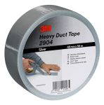 Product image for 3M 2904 Duck tape silver 48mm x 50m