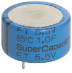 Product image for Super Capacitor FTW series 0.1F 5.5V