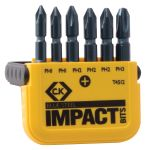 Product image for BLUE STEEL MIXED PH BIT SET OF 6