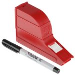 Product image for Write on cable marker,19.05x34.94mm