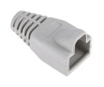 Product image for Grey strain relief hood for RJ45 plug