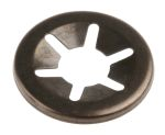 Product image for Open style push-on retainer,6mm shaft
