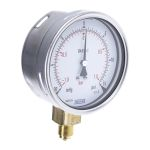 Product image for Pressure gauge,0-30Hg/0-15psi