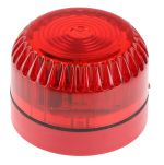 Product image for Fulleon Solex Red Xenon Beacon, 9 → 60 V dc, Flashing, Surface Mount