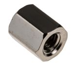 Product image for Brass tapped hole hex spacer,M3x6mm