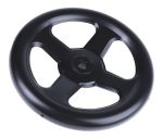 Product image for Handwheel,steel,plastic coated,200mm