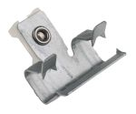 Product image for Horizontal flange cable tie base,8-13mm