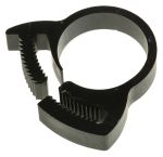 Product image for Nylon 6.6 plastic hose clip,16.9-19.1mm