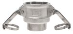 Product image for Part B cam & groove coupler,1 1/2in BSPT