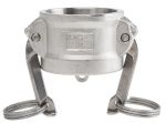 Product image for S/steel coupling dust cap,1 1/2in