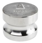 Product image for S/steel coupling dust plug,2in