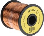Product image for Insulated copper wire,25/26awg 400m