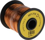 Product image for Insulated copper wire,19/20awg 100m