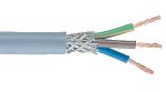 Product image for Grey 3core CY control cable,2.5sq.mm 50m