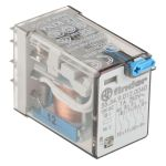 Product image for 4PDT mini plug-in relay,7A 12Vdc coil