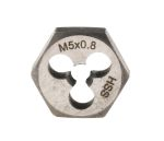 Product image for HSS die nut M5/ 0.8 pitch