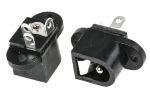 Product image for Chassis mount DC power skt 2.1mm 1A 12V