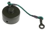 Product image for Size 12 Square Flange Receptacle Cap