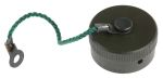 Product image for Size 14 Square Flange Receptacle Cap