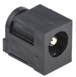 Product image for PCB mount power socket,2.5mm 2.5A 16V