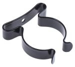 Product image for Black steel spring clip,31.75mm