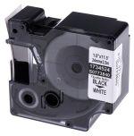 Product image for RHINO TAPE NYLON FLEXIBLE 24MM BLK/WHITE