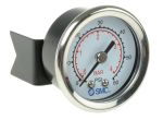 Product image for Pressure gauge 40mm panel mount 4 bar