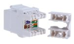 Product image for Jack UTP Cat 5e with shutter White
