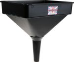 Product image for Garage funnel w/filter,167x260mm 4.5l
