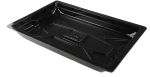 Product image for Polystyrene black drip tray,510x320x65mm